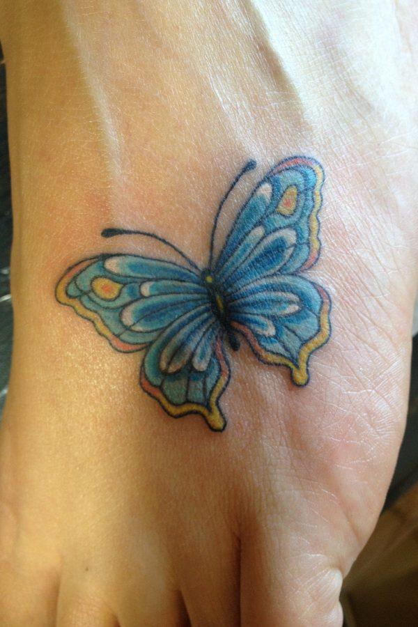 Butterfly, Foot