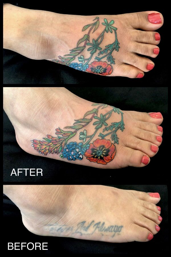 Coverup Foot