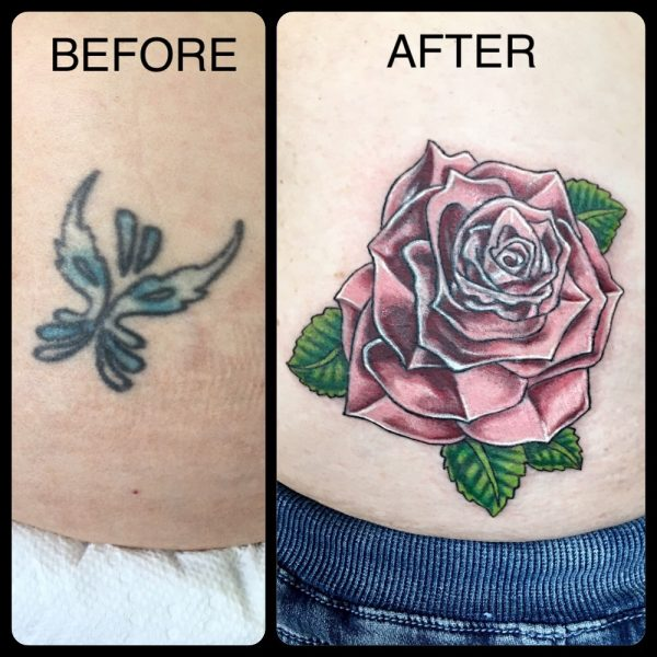 Coverup Rose