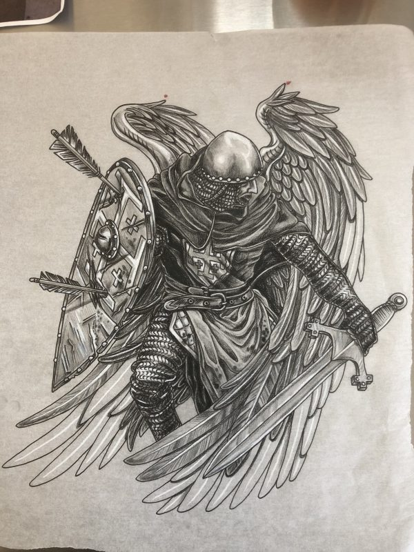 Drawing Archangel