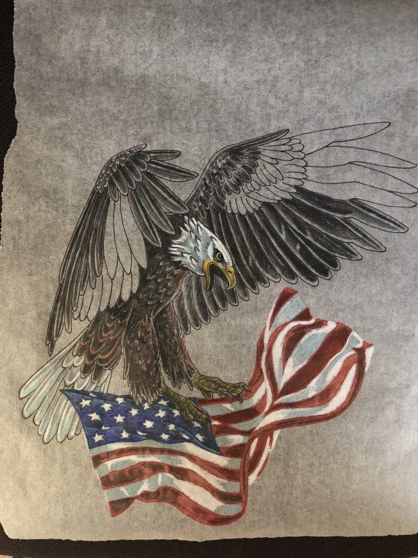 Drawing Eagle