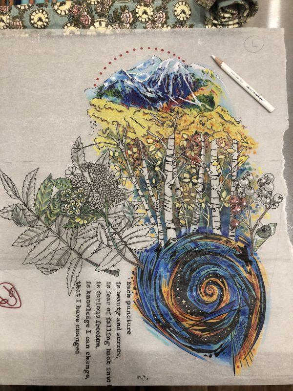Drawing Kiersten Sleeve