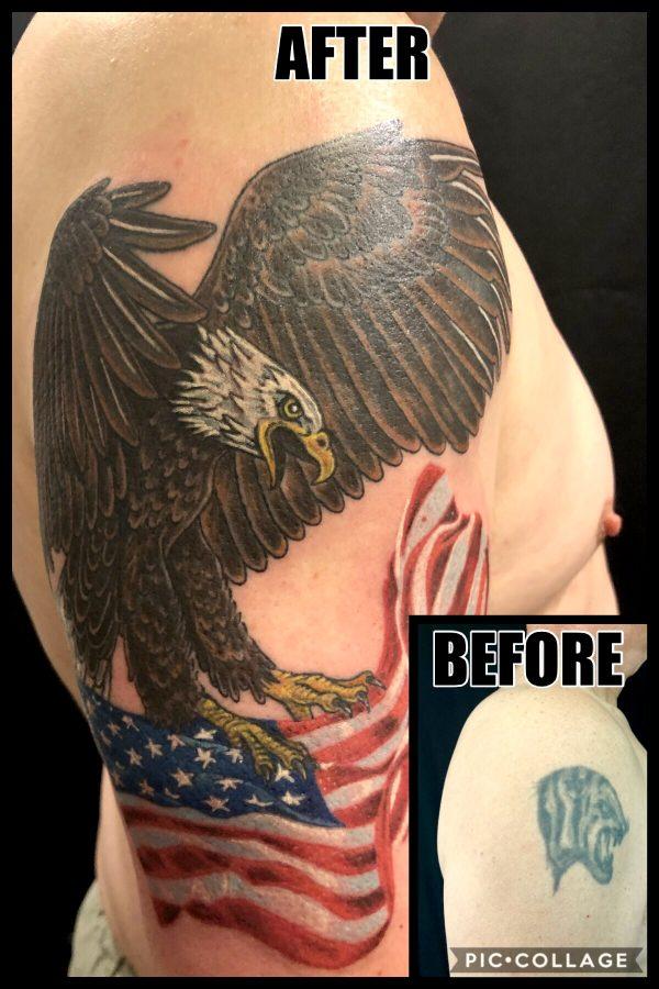 Eagle Coverup