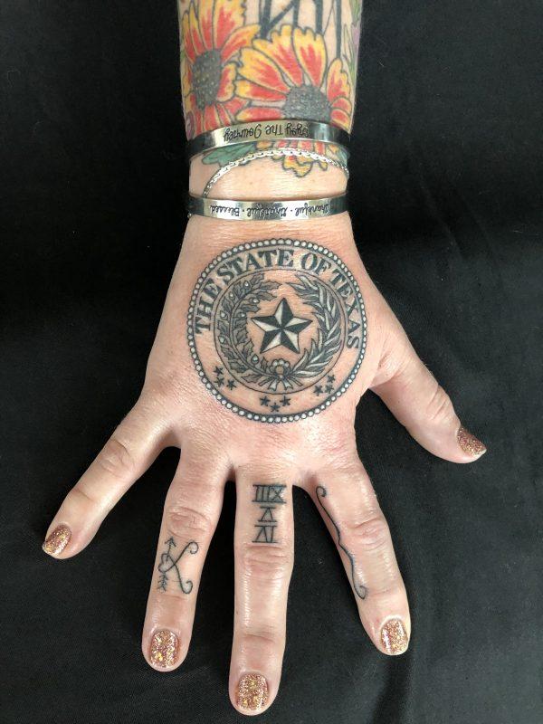 Texas Seal, Kelly