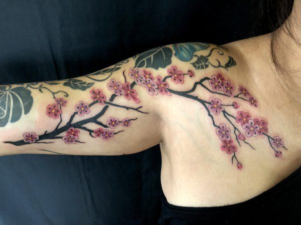 Cherry Blossoms, Minna