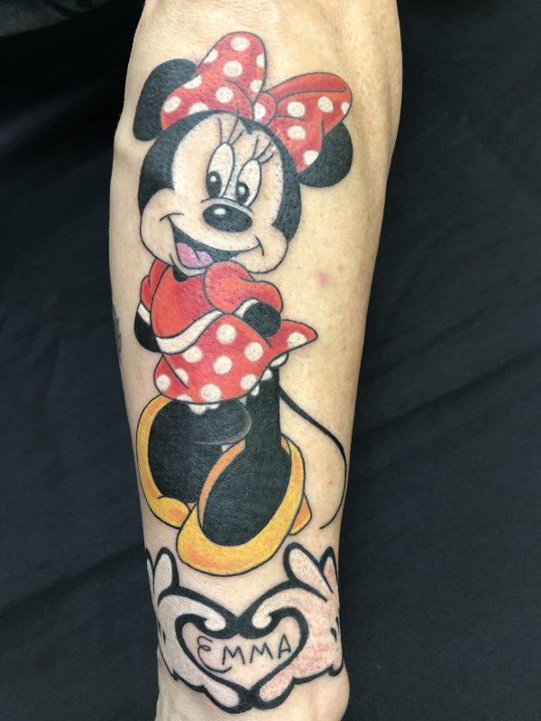 Minnie Mouse, Minna