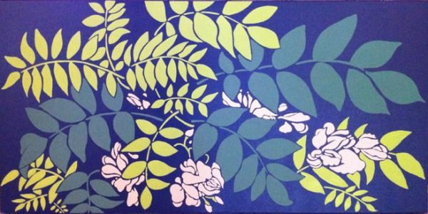 Painting, Leaves