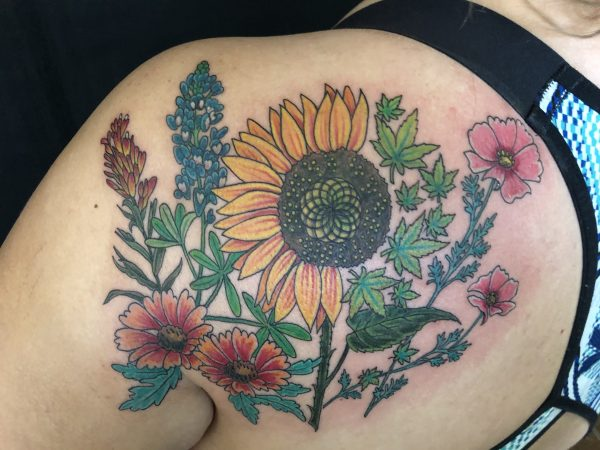 Sunflower and TX